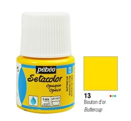 Tinta Tecido Setacolor Pébéo 45ml Red 13