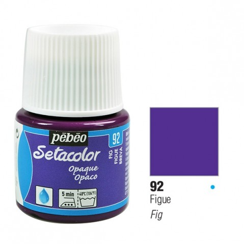Tinta Tecido Setacolor Pébéo 45ml Pébeó Fig 92