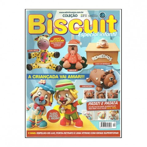 Revista Artes Decorativas Biscuit 01