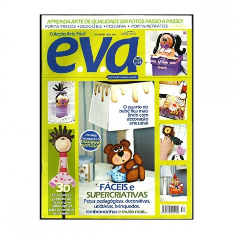 Revista Artes Decorativas EVA 01