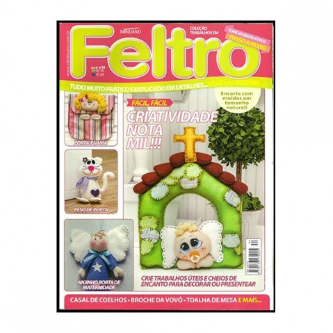 Revista Artes Decorativas Feltro 01