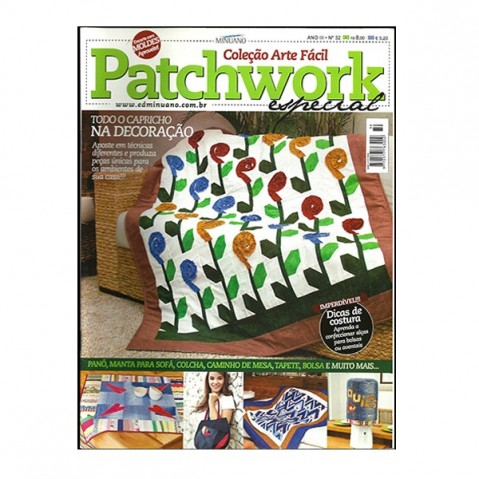Revista Artes Decorativas Patchwork 01