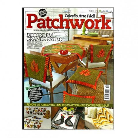 Revista Artes Decorativas Patchwork 02