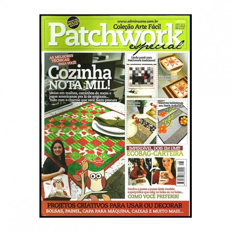 Revista Artes Decorativas Patchwork 03