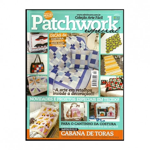 Revista Artes Decorativas Patchwork 04
