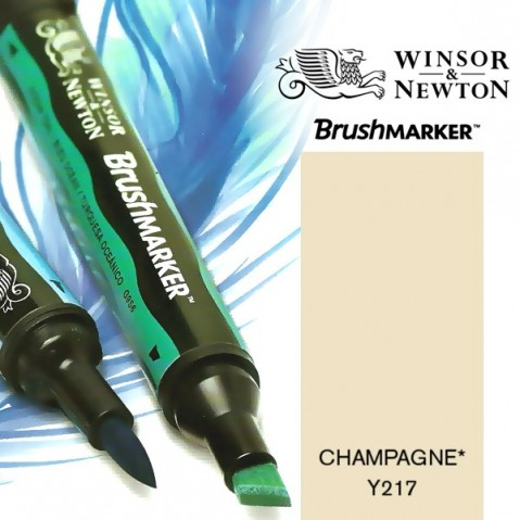 Marcador BrushMarker Winsor & Newton Champagne Y217