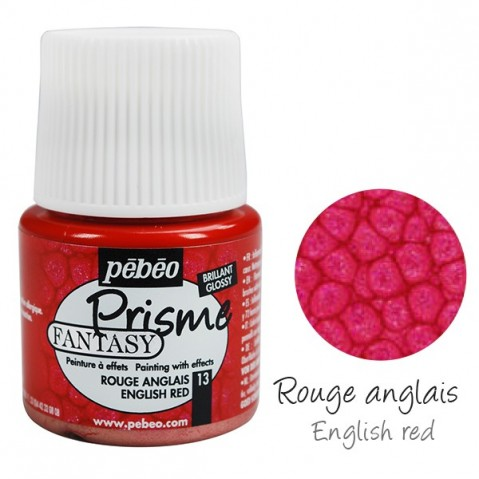 Fantasy Prisme Pébeo English Red 13