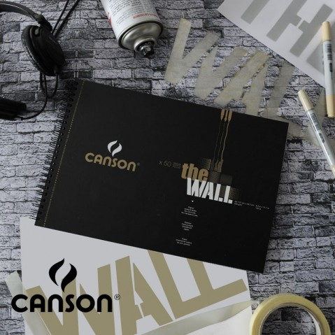 Bloco Canson The Wall 220g/m2 (Marcador)
