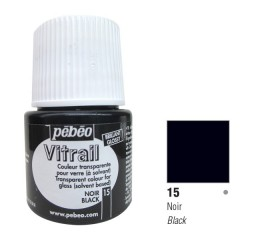 Verniz Vitral Pébeo Black 15