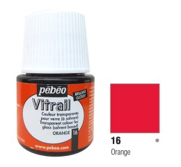Verniz Vitral Pébeo Orange 16