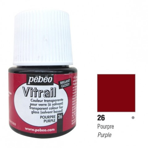 Verniz Vitral Pébeo Purple 26