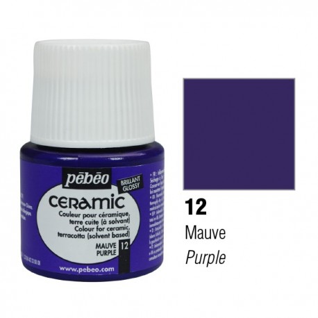 Ceramic Pébéo Purple 12