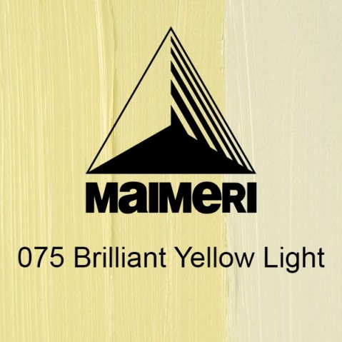 Óleo Classico Maimeri 075 Brilliant Yellow Light