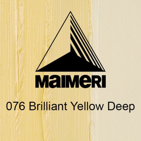Óleo Classico Maimeri 076 Brilliant Yellow Deep