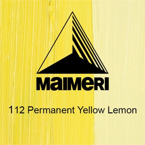Óleo Classico Maimeri 112 Permanent Yellow Lemon