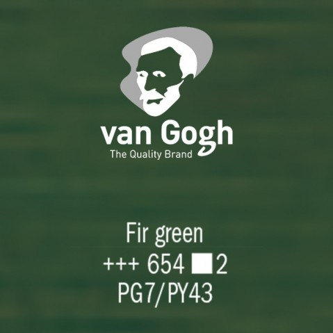 Óleo Van Gogh 40ml S2 Fir Green 654