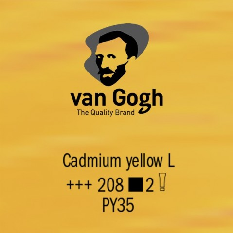 Óleo Van Gogh 40ml S2 Cadmium Yellow L 208