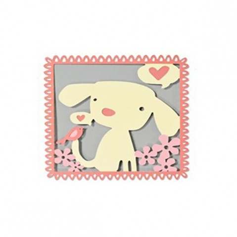 Cortante Sizzix Thinlits Best Friends 660867