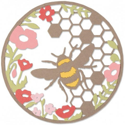 Cortante Sizzix Thinlits Honey Bee 662545