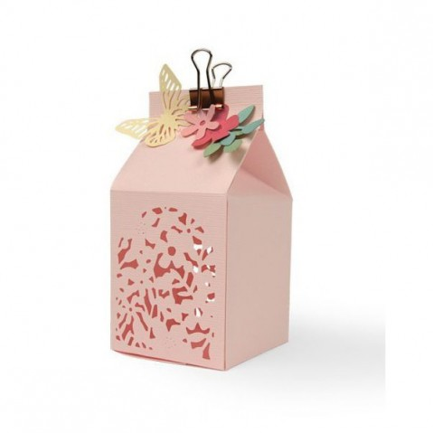 Cortante Sizzix Thinlits Floral Favour Box 662857
