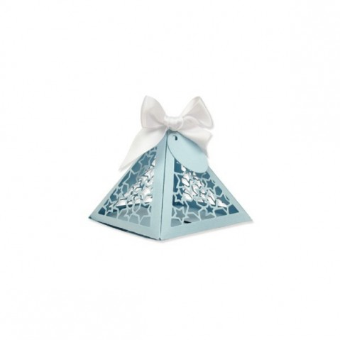 Cortante Sizzix Thinlits Caixa Presente Triangular 662596