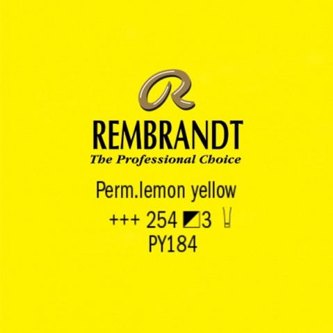 Óleo Rembrandt S3 Perm.lemon yellow 254