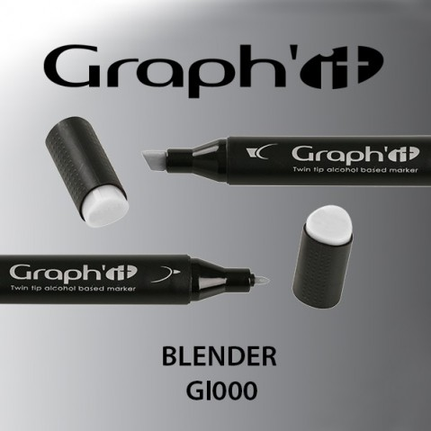 Marcador Graph'it 2 Pontas BLENDER GI0000