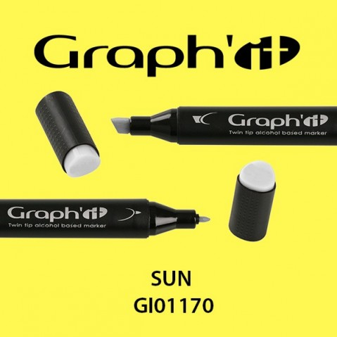 Marcador Graph'it 2 Pontas SUN GI01170
