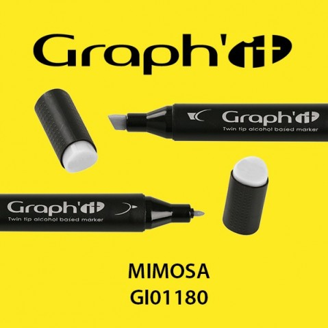 Marcador Graph'it 2 Pontas MIMOSA GI01180
