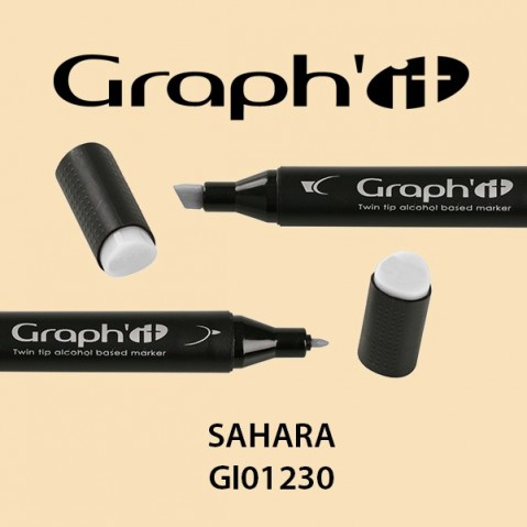 Marcador Graph'it 2 Pontas SAHARA GI01230