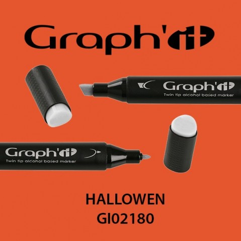 Marcador Graph'it 2 Pontas HALLOWEN GI02180