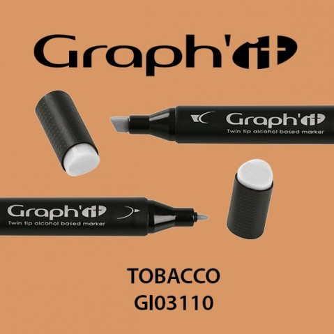 Marcador Graph'it 2 Pontas TOBACCO GI03110