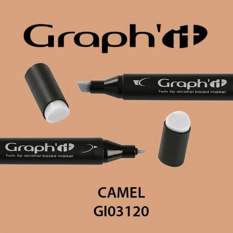 Marcador Graph'it 2 Pontas CAMEL GI03120