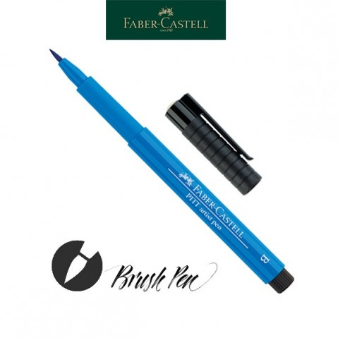 Pitt Artist Pen Pincel Tinta da China 110 Phthalo Blue
