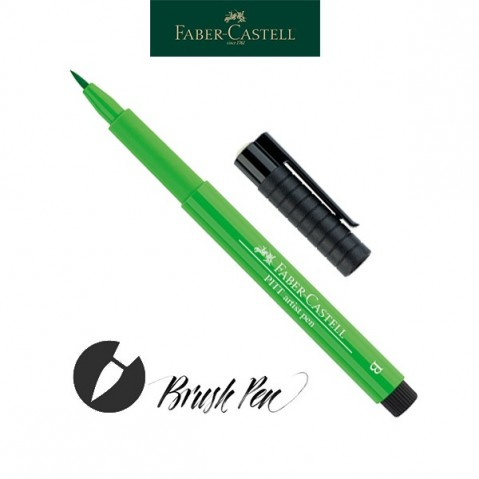 Pitt Artist Pen Pincel Tinta da China 112 Leaf Green