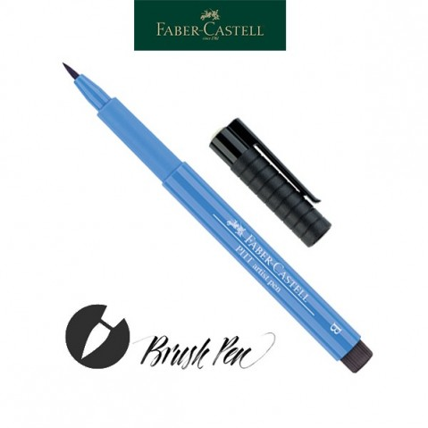 Pitt Artist Pen Pincel Tinta da China 120 Ultramarine