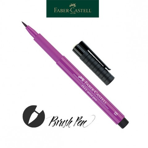 Pitt Artist Pen Pincel Tinta da China 134 Crimson
