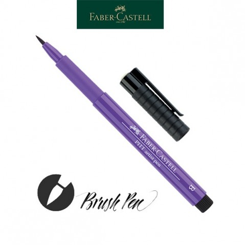 Pitt Artist Pen Pincel Tinta da China 136 Purple Violet