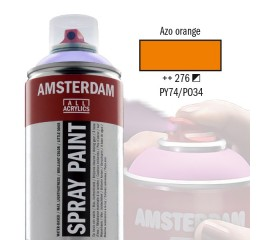 Spray Acrílico Amsterdam AZO ORANGE 276