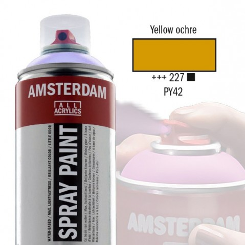 Spray Acrílico Amsterdam YELLOW OCHRE 227