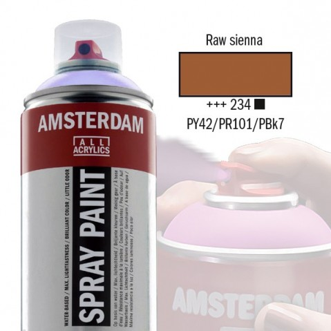 Spray Acrílico Amsterdam RAW SIENNA 234