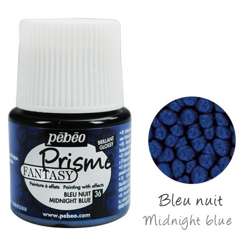 Fantasy Prisme Pébéo Midnight Blue 36