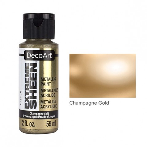Tinta Acrílica DecoArt EXTREME SHEEN Champagne Gold