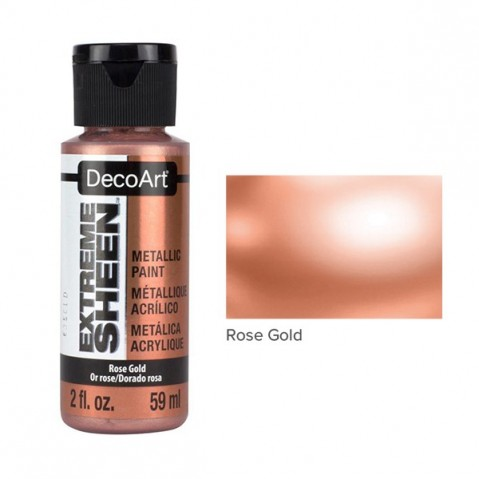 Tinta Acrílica DecoArt EXTREME SHEEN Rose Gold