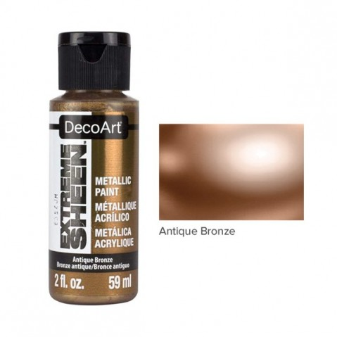 Tinta Acrílica DecoArt EXTREME SHEEN Antique Bronze