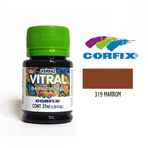 Verniz Vitral Corfix Marron 319