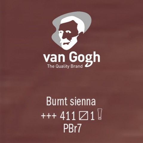 Óleo Van Gogh 40ml S1 Burnt Sienna 411