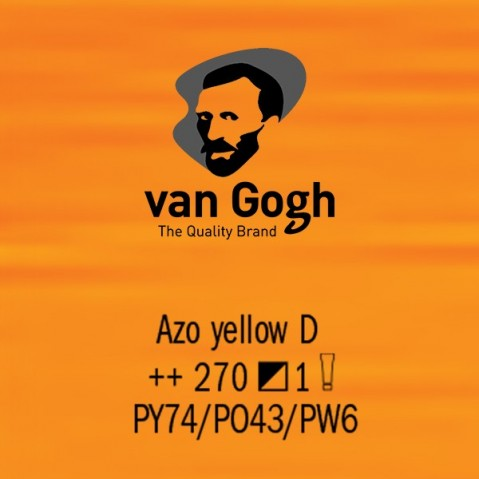 Óleo Van Gogh 40ml S1 Azo Yellow D 270