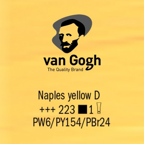 Óleo Van Gogh 40ml S1 Naples Yellow D 223