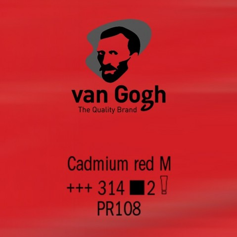 Óleo Van Gogh 40ml S2 Cadmium Red M 314
